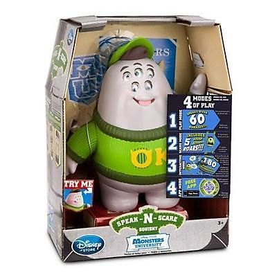 Monsters Inc 44038: Disney Squishy Speak-N-Scare Talking Action Figure - Monsters University New -> BUY IT NOW ONLY: $34.94 on eBay!
