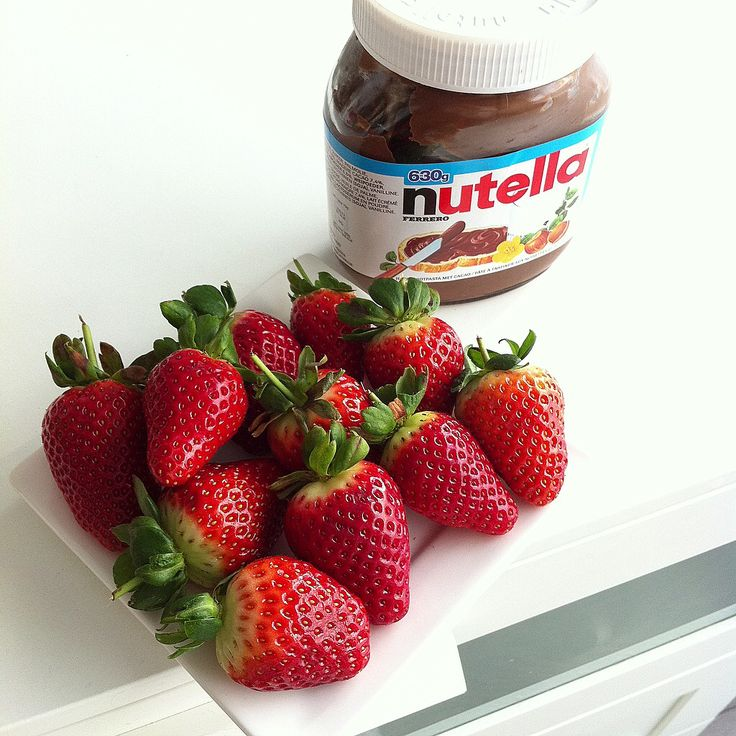 Strawberries w/ the fitness sauce :D