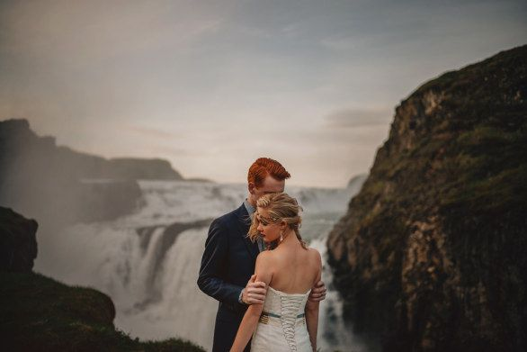 Foto di #matrimonio in #Islanda | Wedding Photographs in Iceland | Gabe McClintock | foto fuga di nozze