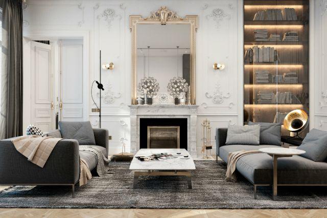 Este apartamentoparisiensecombina a elegância francesa tradicional com o estilo contemporâneo. Para o escritório de arquitetura responsável por este projeto, a localização geográfica dos seus cli…