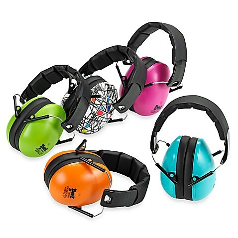 New for 2016 - BanZ Kids Hearing protection in new Pop Art Colors