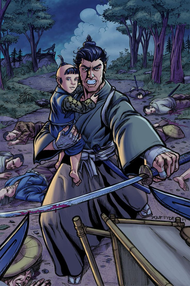 Lone Wolf and Cub by rofdsmxc.deviantart.com on @DeviantArt