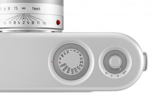 The control dials and shutter button have been sunk into the top-plate of the Jony Ive and...