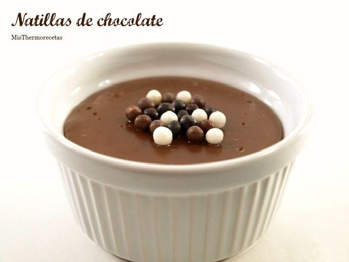 Natillas de chocolate - MisThermorecetas
