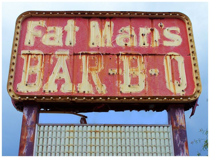 Fat Man's Bar-B-Q. You know it's gonna be good...
