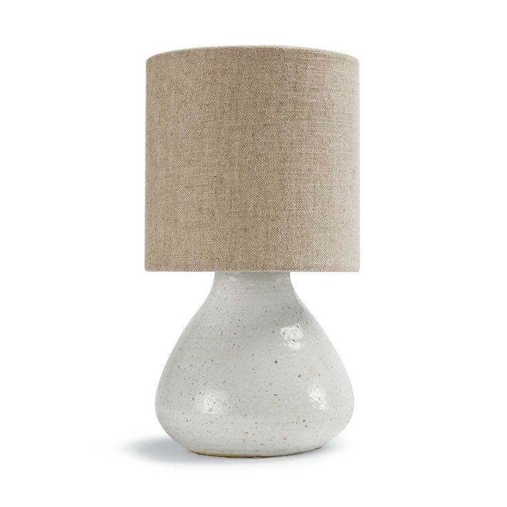 Redefine contemporary style with the Mercury Night Light from Regina Andrew Design. With an artist's eye, their assortment skillfully mixes modern with rustic, elegant with casual, romantic with relaxed. They have an eclectic vision that resonates with natural style.  Material: Ceramic Finish:White  *Natural and semi-precious materials are products of the nature, variations in color, pattern, texture, size and veining should not be considered as a defect.