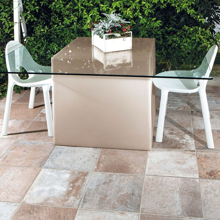 Add some personality to your outdoor space with these textured tiles. #sydneytiles #colortile