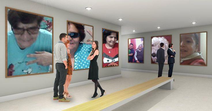 ¿Cómo sería una exposición tuya en un museo?