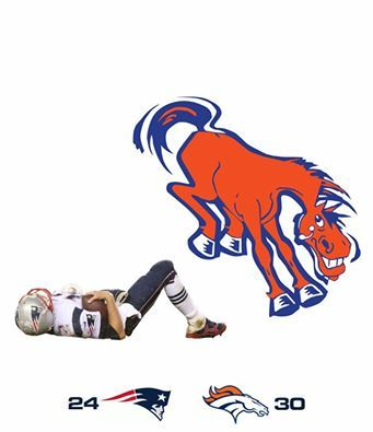 Broncos vs Patriots 2015 Nov.We hate to kick Tom Brady when he's down... Actually, we don't mind at all.