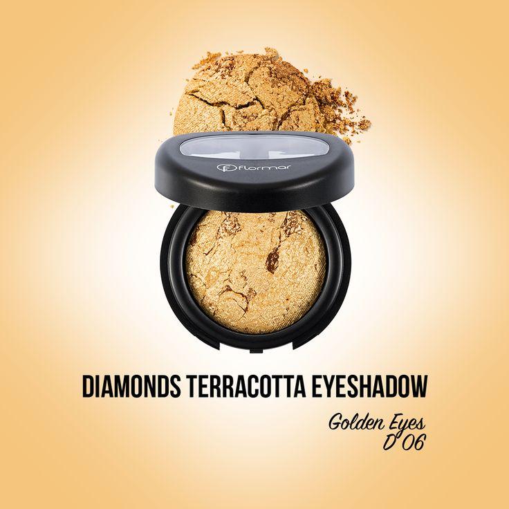 Vedeta a fardurilor de pleoape, Diamonds Terracotta Eyeshadow Golden Eyes este elementul cheie ce vine in completarea unui look captivant. http://www.flormarcosmetics.ro/ochi/fard-de-ochi/diamonds-terracotta-eye-shadow--8690604083831.html