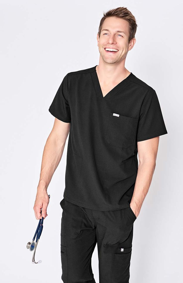 men's Chisec - three-pocket scrub top