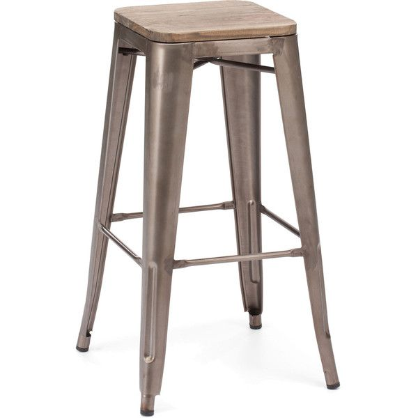 Manchester Bar Chair Rustic Wood