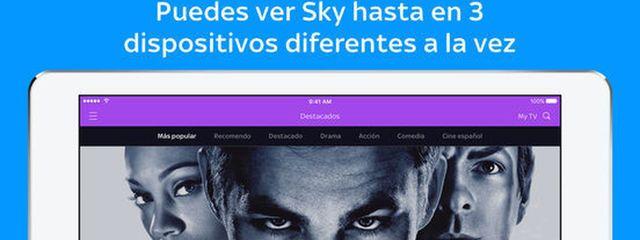 Sky nace por  10 euros al mes con 10 canales cine y series completas