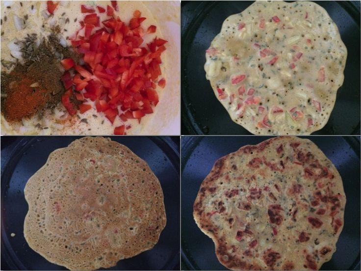 Besan pura er en god og mettende frokost/brunsj. I India nytes disse pannekakene ofte som bare snack med en god chutney til. De er glutenfrie og veganske.