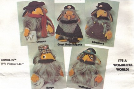 Vintage Wombles pattern LOVED these guys. If I find this pattern I'm goona make them all!