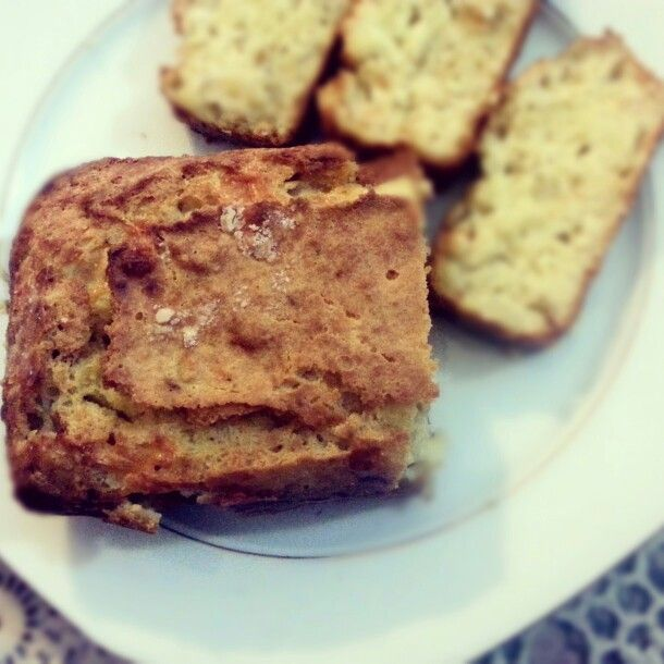 Onion quick bread