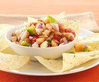fresh salsa, cantaloupe & apple #melon #salsa #pico #de #gallo #cantaloupe #apple #tomato #recipe