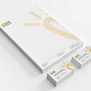 Solvang stationary and business cards. By byDesign