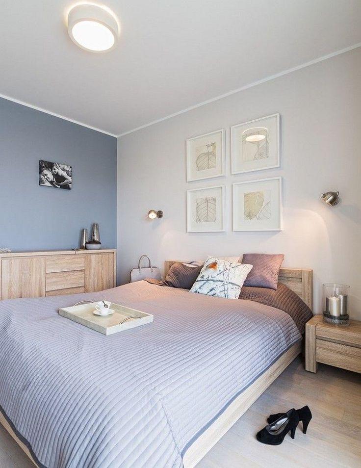 Die besten 25+ Kleine schlafzimmermöbel Ideen auf Pinterest - wandfarbe im schlafzimmer erholsam schlafen