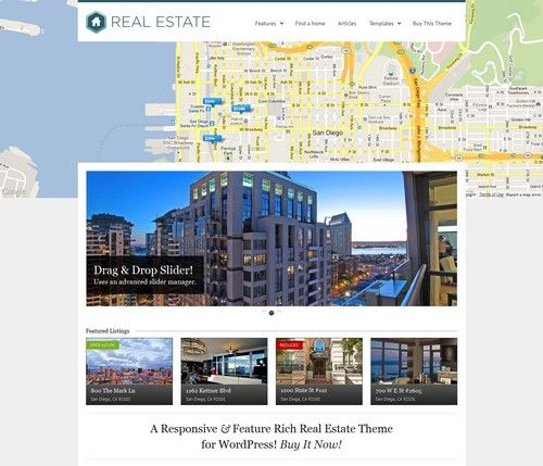 WP Pro Real Estate 3 Responsive Real Estate WordPress Theme |Xtratheme