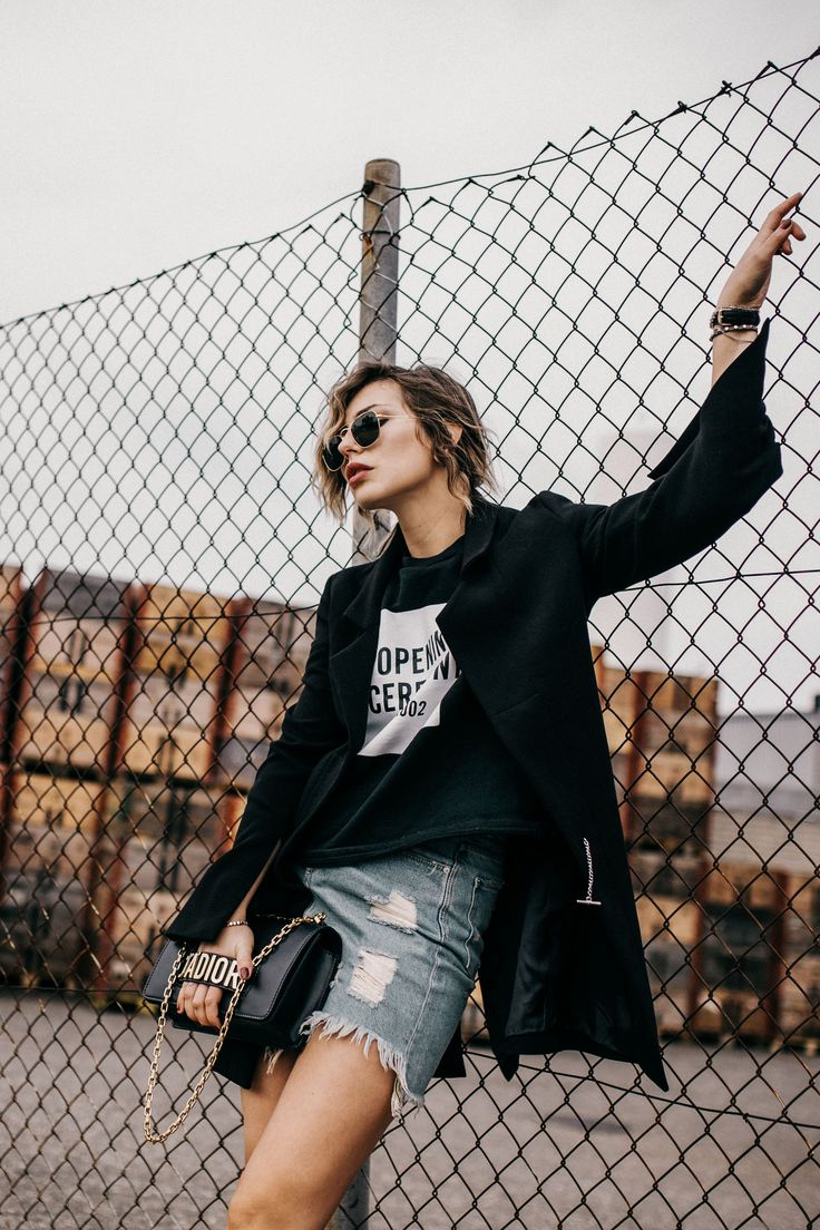 Spring The First Time Masha Sedgwick Spring Grunge And Black Blazers