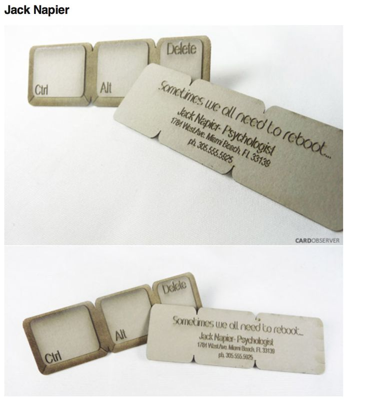 12 best Famous Business Card images on Pinterest | Business cards ...