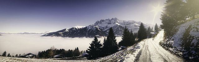 Swiss Alps - Blanket of clouds
