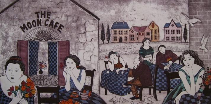 Anine Barnard - At the moon cafe