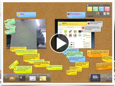 LINO IT - App available. An online collaborative cork board for gathering ideas. Use color-coded notes, add images and videos to organize group or individual ideas.