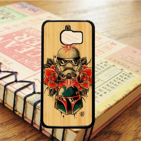 Star Wars Wood Tatto Samsung Galaxy S7 Edge Case