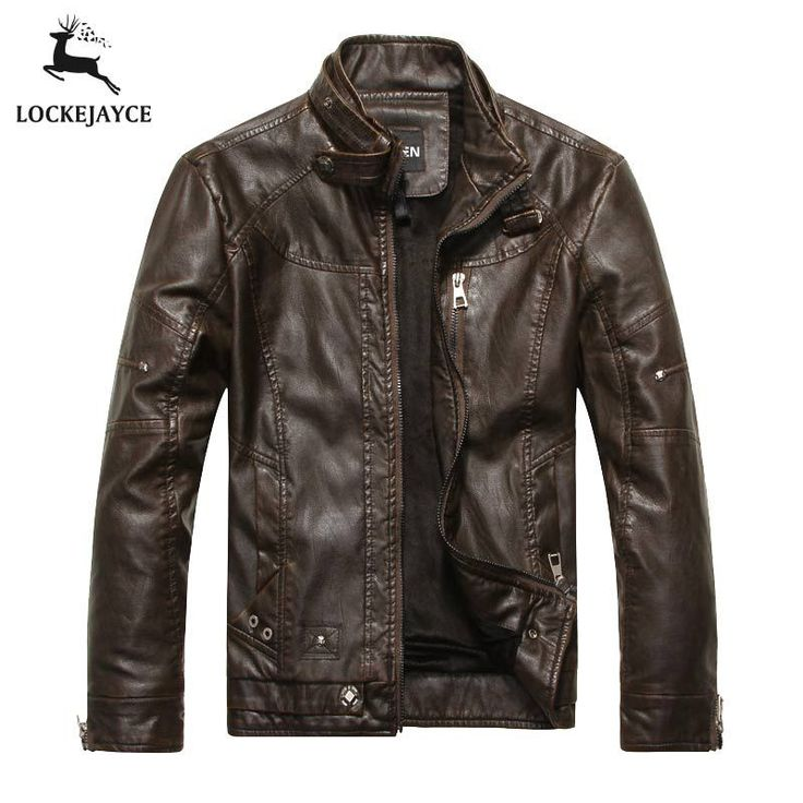 Leather jacket men biker jaqueta de couro masculina mens leather jackets and coats PY001|ae75b1a2-3293-4497-aa94-e657db03bccf|Leather & Suede
