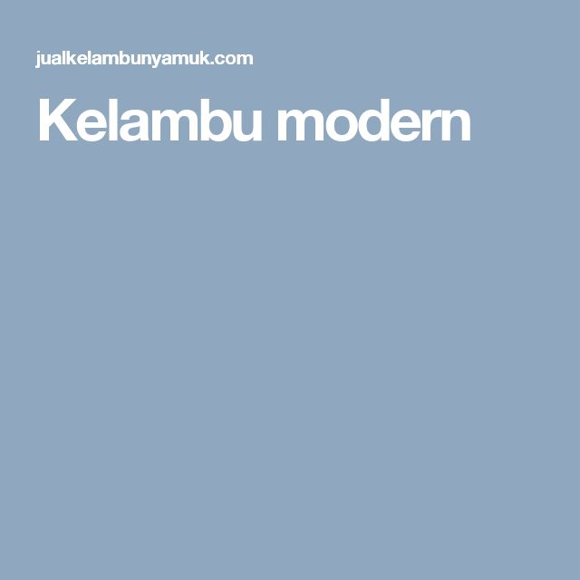 Kelambu modern