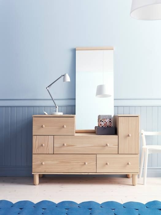 Cassettiera/elemento supplementare, pino - IKEA PS 2012