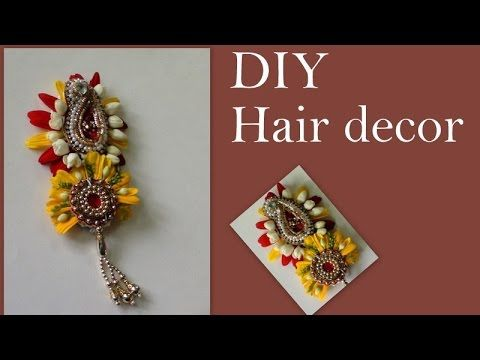 DIY Hair Decor - YouTube