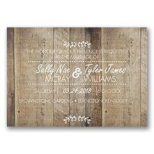 Country Celebration   Invitations by David's Bridal