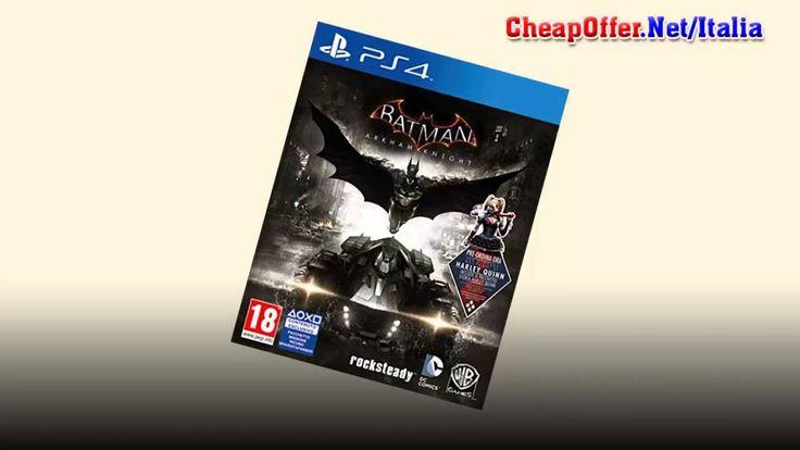 Videogiochi Italia PS4: Batman Arkham Knight