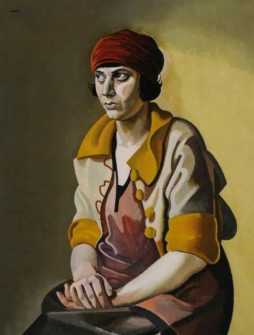 "William Patrick Roberts (1895-1980)  ""The Red Turban"", 1928"