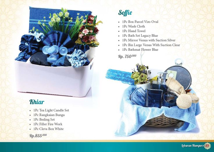 Lebaran Parcel - Soffie and Khiar. Click www.informa.co.id for more collection.