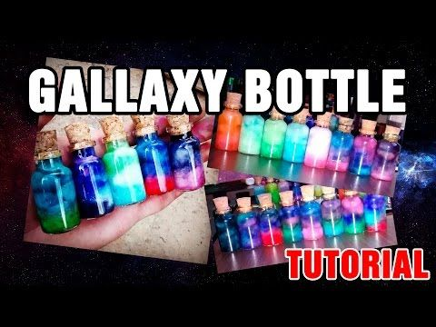 Galaxy Bottle / Nebula Bottle - Tutorial - YouTube