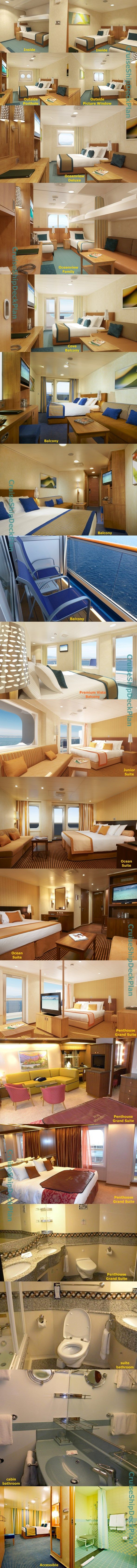 Carnival Cruise Line Carnival Magic cabins and suites photos
