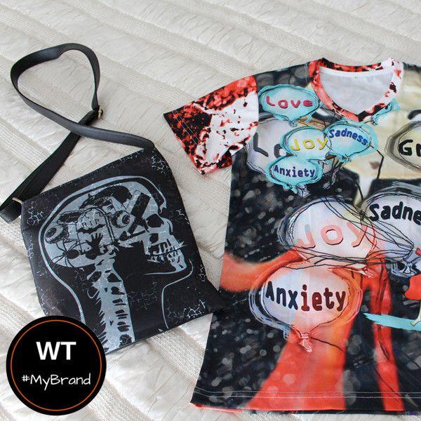 Brain Clutter - Shoulder Sling Bag