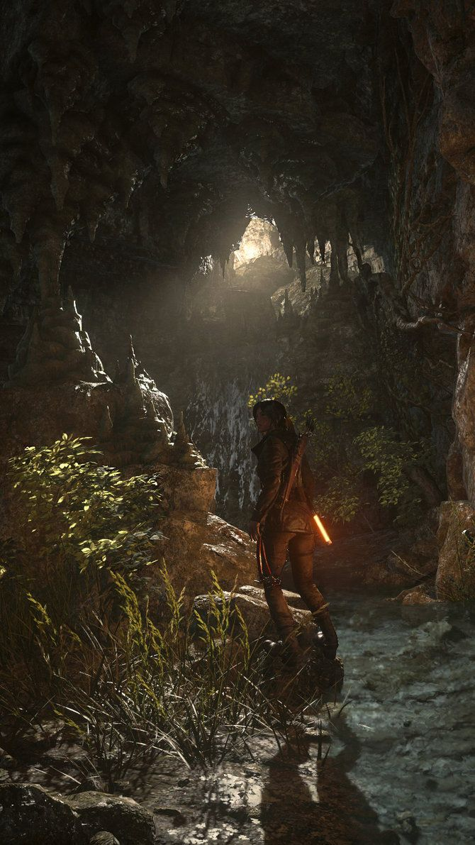 Rise of the Tomb Raider: Deep Search by Nitromonteiro