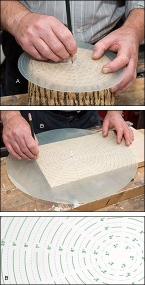 Center Finder - Woodworking
