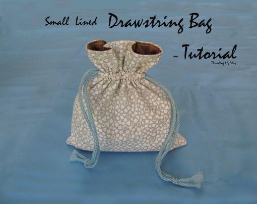 Top 25  best Drawstring bag tutorials ideas on Pinterest | Handbag ...
