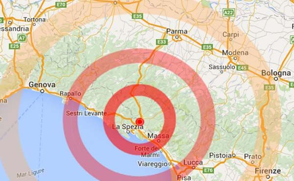 TREMA IL NORD ITALIA | Intensa scossa di terremoto: 4.1 avvertita in tre regioni - http://www.sostenitori.info/trema-nord-italia-intensa-scossa-terremoto-4-1-avvertita-tre-regioni/239538