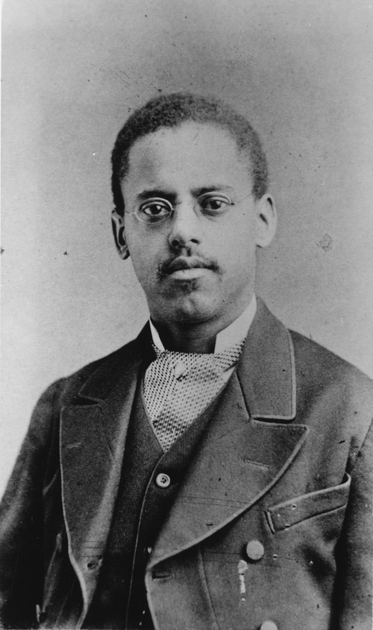 This day in 1848, inventor and draftsman Lewis Latimer was born. Latimer worked with Alexander Graham Bell, drafting the patent for Bell's design of the telephone, and he worked in the field of incandescent lighting alongside Hiram Maxim and Thomas Edison for the light bulb. Inventions of his own included an improved railroad car bathroom and an early air conditioning unit.