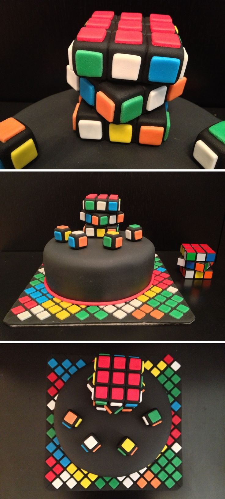 9 Best Images About Jesse Cake Rubiks Cube On Pinterest