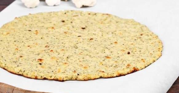 LCHF CAULIFLOWER     PIZZA BASE