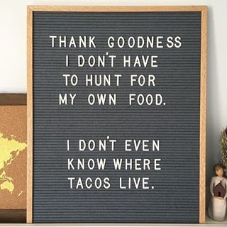 Repost from Letterfolk. If you are in need of some daily cheer, can I just recommend the @letterfolkco feed? It's one of my favorites. Just like tacos.