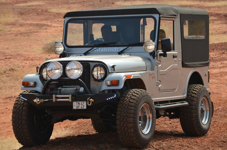 Mahindra Thar Jeep Modified